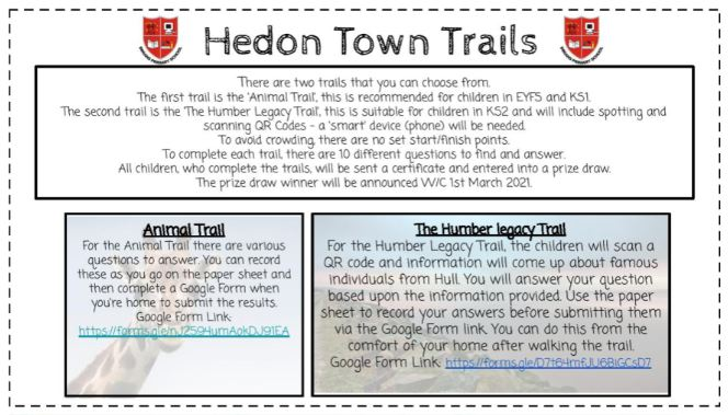 Inmans Half Term Trails