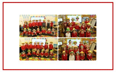 EYFS show us their Easter Bonnets
